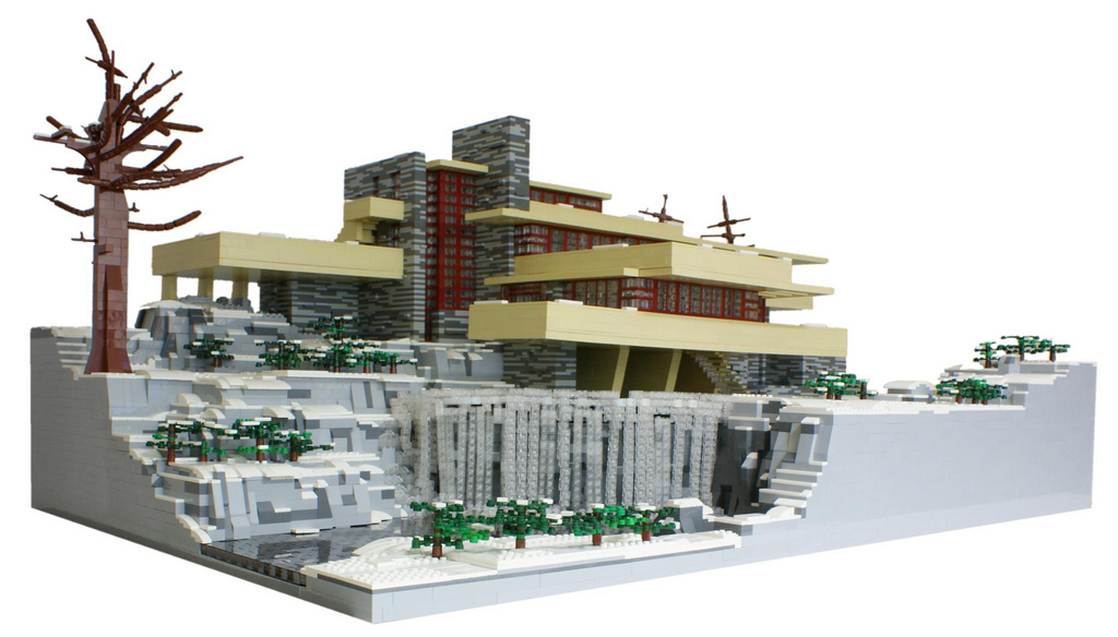 frank lloyd wright lego la suite sleek design. Black Bedroom Furniture Sets. Home Design Ideas