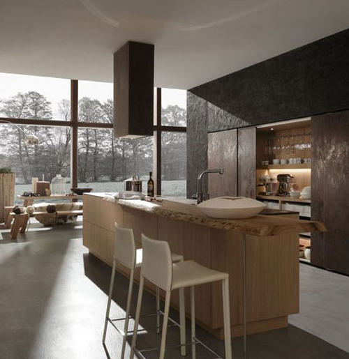 "German Kitchen Designs: Cuisines ""industrial Chic"" Chez Rational"