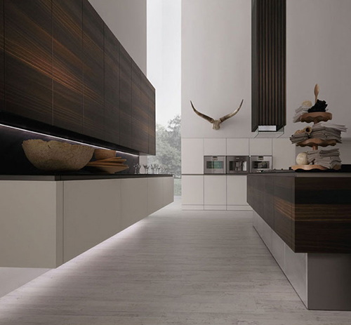 Cuisines industrial chic chez rational sleek design for Elegant modern kitchen designs